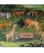 Feest safari speelset 14 stuks