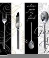 Feest servetten dinner 33 cm