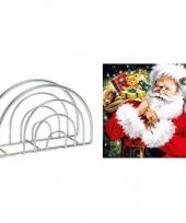 Feest servettenhouder met kerst servetten kadozak