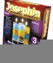 Feest set om kaarsen in glas te maken