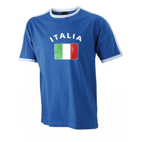 Feest-shirts met vlag van italie heren