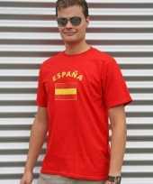 Feest-shirts met vlag van spanje heren