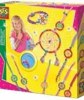 Feest sieraden dromenvanger hobby set voor kinderen