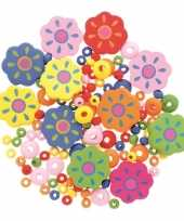 Feest sieraden maken kralenmix set bloem