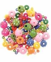 Feest sieraden maken kralenmix set rond met stippen