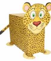 Feest sinterklaas luipaard suprise bouwpakket