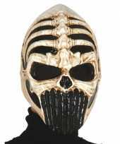 Feest skelet masker voor carnaval