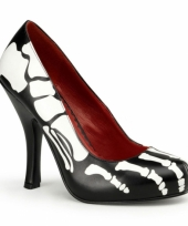 Feest skeletten xray pumps voor dames