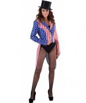 Feest slipjas amerika stars and stripes voor dames