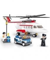 Feest sluban helikopter bouwblokjes