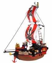 Feest sluban piratenschip groot bouw speelset