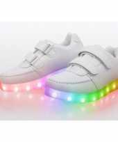 Feest sneakers met lichtgevende zool maat 28