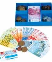 Feest speel munten en briefgeld