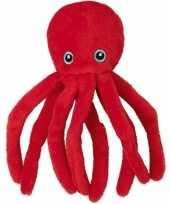 Feest speelgoed artikelen octopus inktsvis vissen knuffelbeest 12 cm