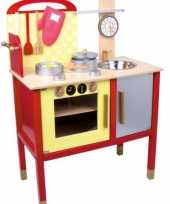 Feest speelgoed keuken van hout