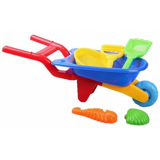 Feest speelgoed kruiwagentje 6 delig