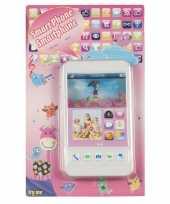 Feest speelgoed mobiele telefoon wit