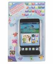Feest speelgoed mobiele telefoon zwart