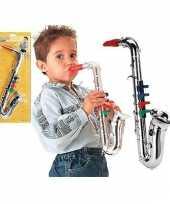 Feest speelgoed saxofoon plastic