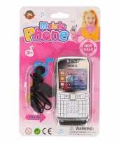 Feest speelgoed telefoon roze voor meisjes