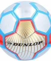 Feest speelgoed voetbal rood zilver blauw 23 cm