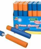 Feest speelgoed waterpistool van foam 33 cm