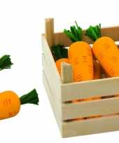 Feest speelgoed wortels met kist