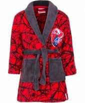 Feest spiderman badjas rood