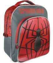Feest spiderman rugtas rugzak 30 x 41 cm voor jongens