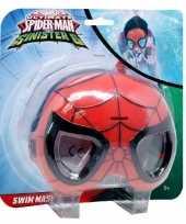 Feest spiderman zwemmasker duikbril voor kinderen