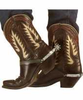 Feest sporen voor cowboy laarzen