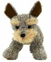 Feest staande welsh terrier knuffel hond 30 cm