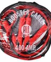 Feest startkabels 400 ampere in tas