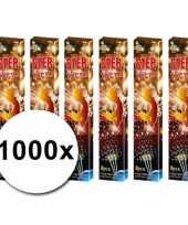 Feest sterretjes van 16 cm 1000 stuks