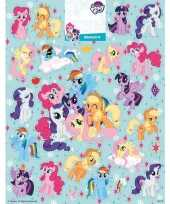 Feest stickervel my little pony groot
