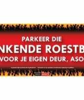 Feest stinkende roestbak sticky devil sticker
