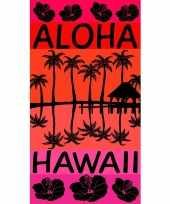 Feest strandlaken aloha 95 100 x 175 cm