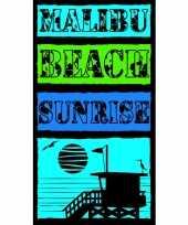 Feest strandlaken malibu beach 95 100 x 175 cm