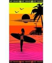 Feest strandlaken paradise sunset 95 100 x 175 cm