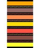 Feest strandlaken twisty safran 95 100 x 175 cm