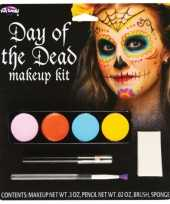Feest sugarskulls makeup set