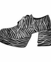 Feest super zebra schoen