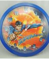 Feest superman klok 26 cm