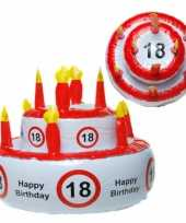Feest taarthoed 18 jaar
