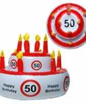 Feest taarthoed 50 jaar