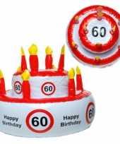 Feest taarthoed 60 jaar