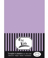 Feest tafellaken lila paars140 x 240 cm