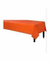 Feest tafellaken oranje 140 x 240 cm