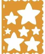 Feest tekensjabloon sterretjes