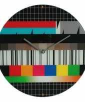 Feest televisie testbeeld klokken 34 cm